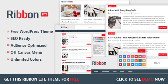 Ribbon - Free Responsive WordPress Magazine Theme @ MyThemeShop
