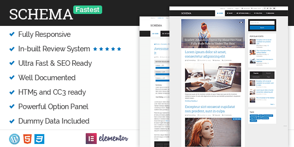 Schema - Fastest SEO Theme Available for WordPress @ MyThemeShop