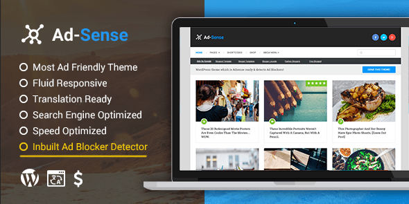 Ad-Sense: Premium WordPress Blog Theme @ MyThemeShop
