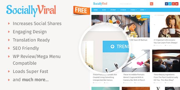 SociallyViral Free - Free Viral WordPress Theme @ MyThemeShop