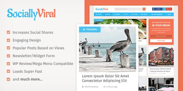 SociallyViral - Viral WordPress BlogTheme @ MyThemeShop
