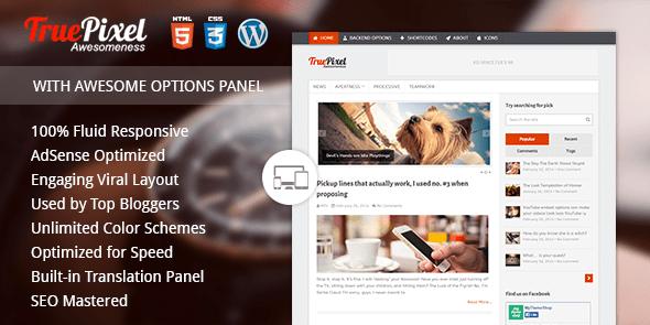 TruePixel - Premium WordPress Blogging Theme @ MyThemeShop
