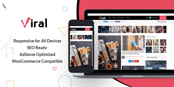 Viral - WordPress Theme for Social Media Marketers @ MyThemeShop