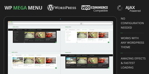 WP Mega Menu - Menu WordPress Plugin @MyThemeShop