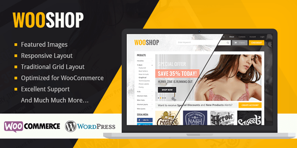 Wooshop Premium Woocommerce Wordpress Theme Mythemeshop