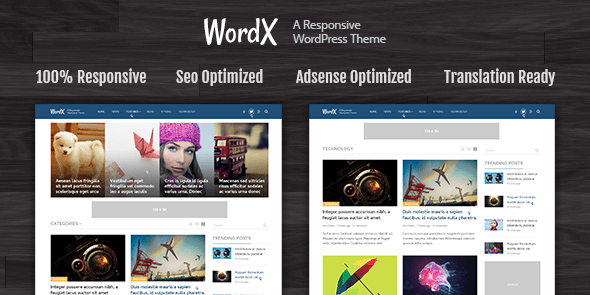 WordPress Theme For Blogs and Online Magazines