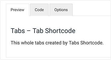 Tabs - Tab