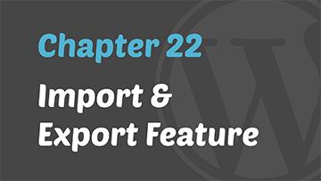 wp tutorial 22
