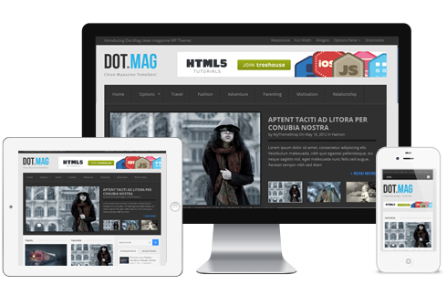 DotMag – Professional WordPress Magazine Theme  Free Download