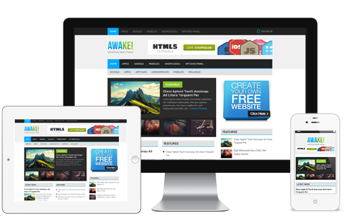 Awake – WordPress Magazine Theme  Free Download