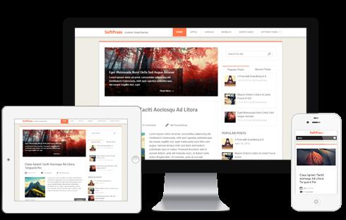 SoftPress – Clean WordPress Blog Theme  Free Download