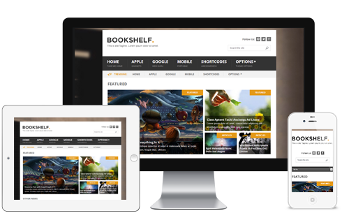 BookShelf – WordPress Blog Theme  Free Download