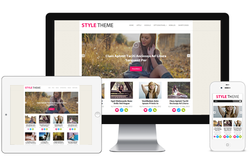 Style – Stylish WordPress Theme for Bloggers  Free Download
