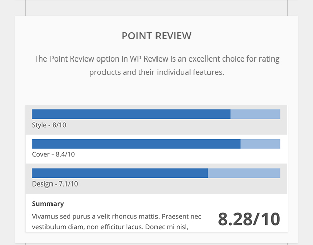 Point Review