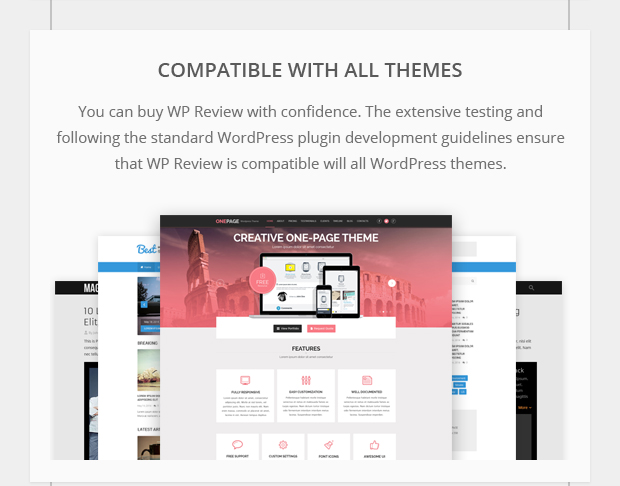 Compatible with All Themes