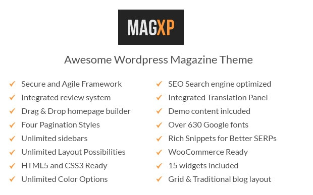 MagXP Features