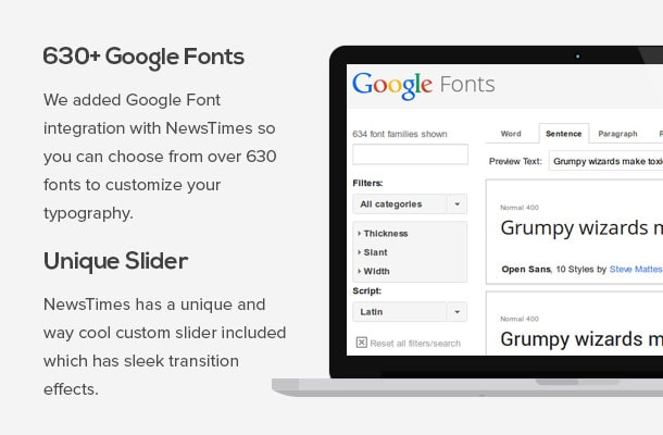 NewsTimes-Google-fonts