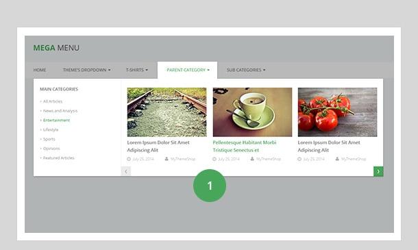 mega menu style 1
