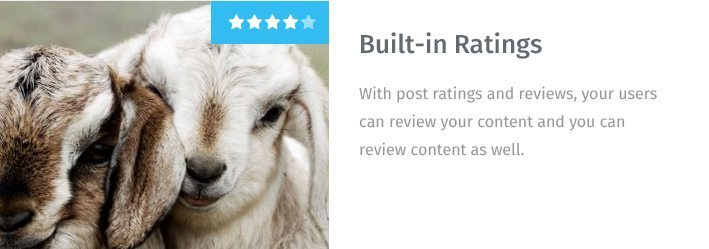 Built-in Ratings