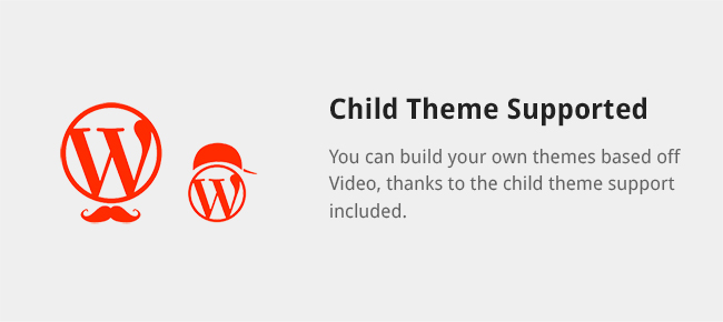You can build your own themes based off Video, thanks to the child theme support included.