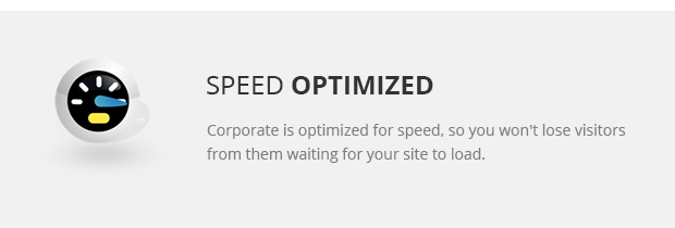 Speed Optimized