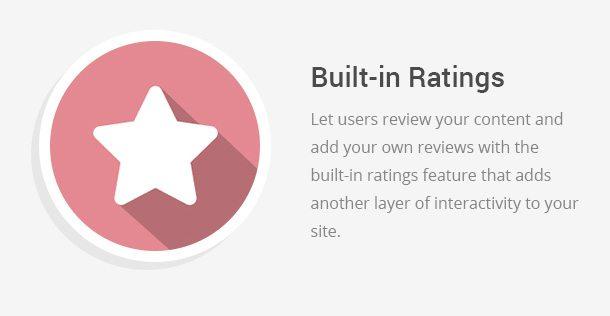 Built in Ratings