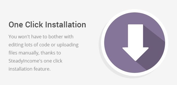 Once Click Installation