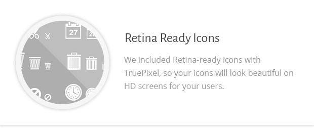 Retina Ready Icons