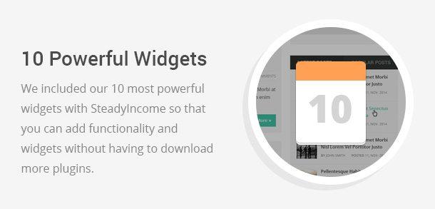 Powerful Widgets