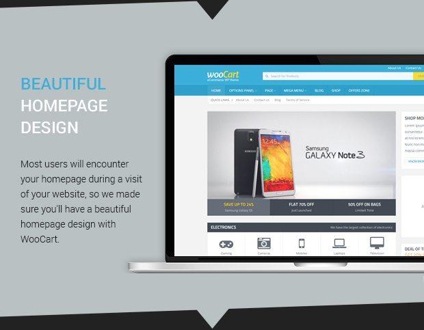 Beautiful Homepage Design