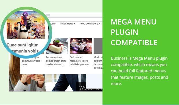 Mega Menu Plugin Compatible