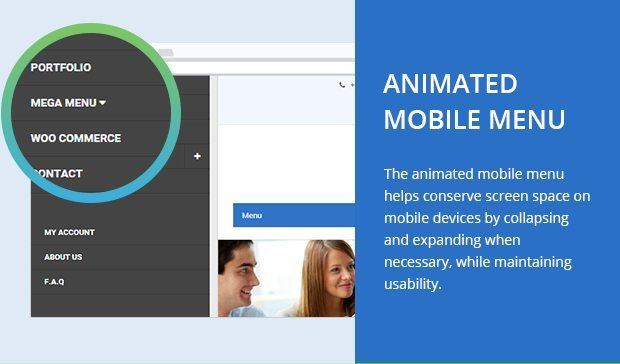 Animated Mobile Menu