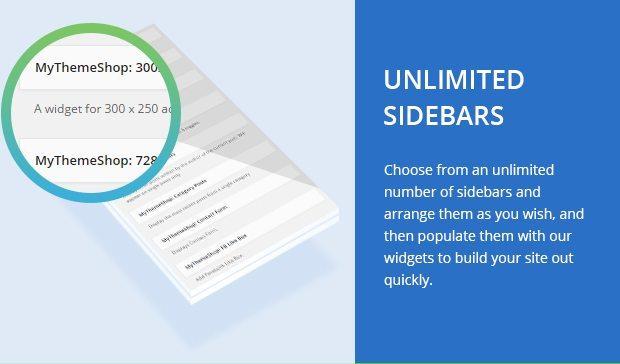 Unlimited Sidebars
