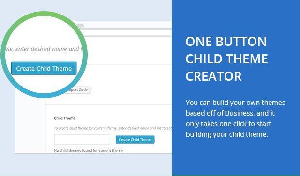 One Button Child Theme Creator