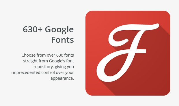 630 Plus Google Fonts