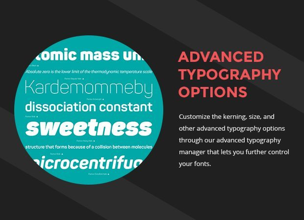 Advanced Typography Options