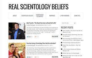 Real Scientology Beliefs