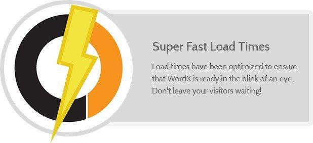 Super Fast Load Times