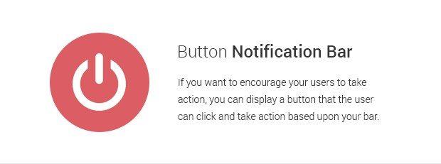Button Notification Bar