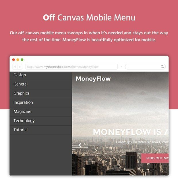 Off Canvas Mobile Menu