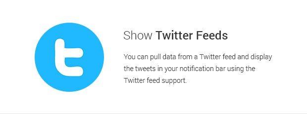Show Twitter Feeds