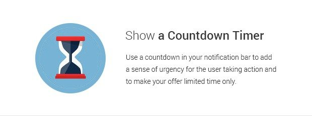 Show a Countdown Timer
