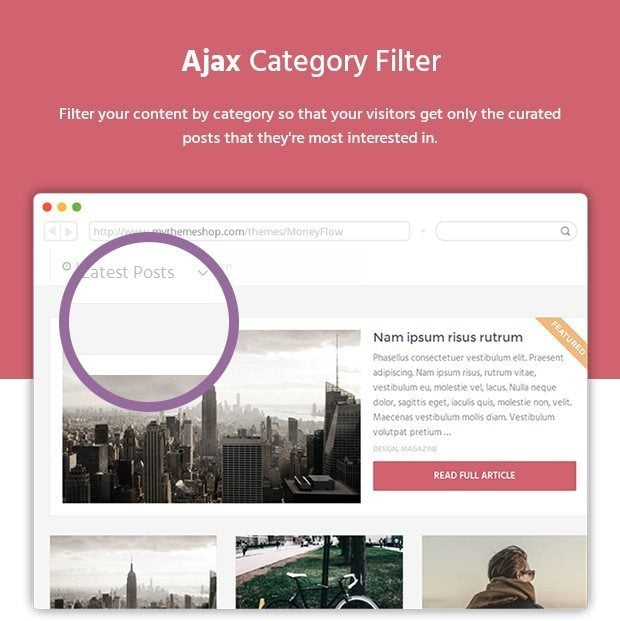 Ajax Category Filter