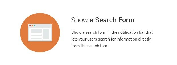 Show a Search Form