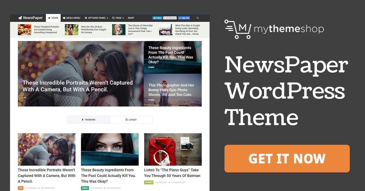 Newspaper v2.3.11 - Mythemeshop Magazine WordPress Theme