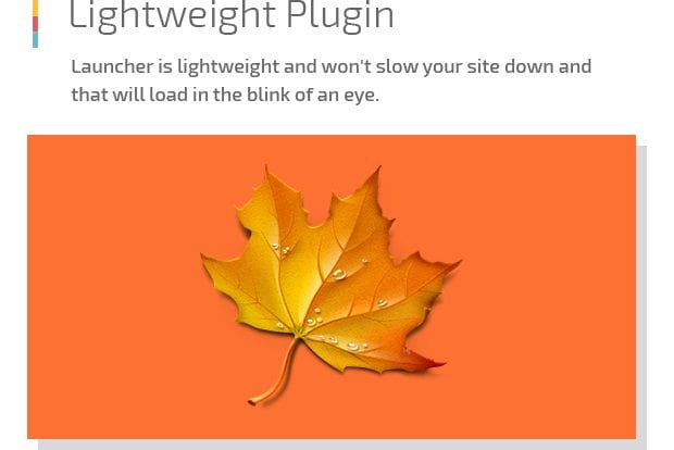 Lightweight Plugin