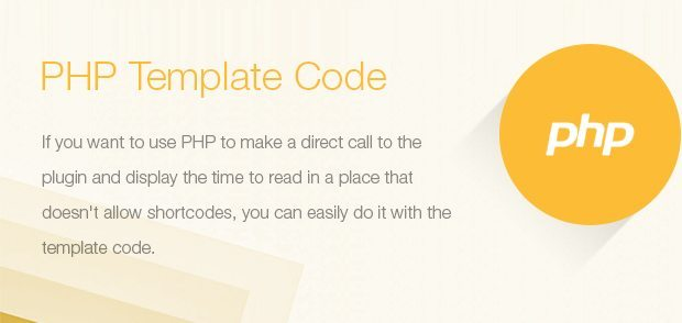 Php Template Code