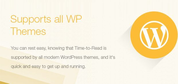 Supports all WP Themes