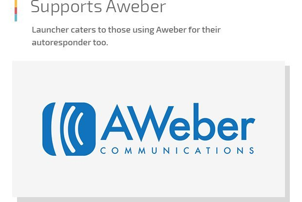 Supports Aweber