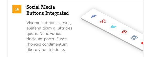Social Media Button Integration